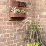 DIY Address Number Wall Planter