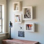 DIY Frame Shelves