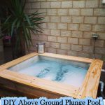 DIY Above Ground Plunge Pool