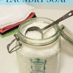 Homemade Laundry Soap {Borax Free!}
