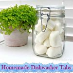 Homemade Dishwasher Tabs