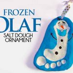 Frozen Olaf Salt Dough Ornament