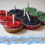 Bottle Cap Candles (TUTORIAL)