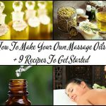 How To Make Your Own All-Natural Massage Oils