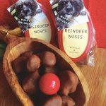 Reindeer Noses: Homemade Malt Balls