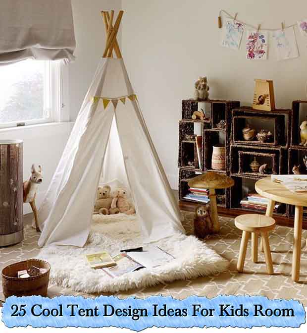7 Cool Tent Design Ideas For Kids Room - Lil Moo Creations