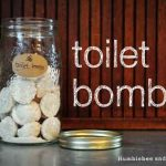Lemon Eucalyptus Toilet Bombs