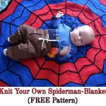Knit Your Own Spiderman-Blanket (FREE Pattern)