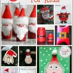 50 Santa Crafts for Kids