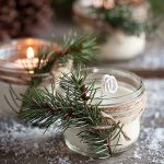 DIY Pine Cone Scented Soy Candles