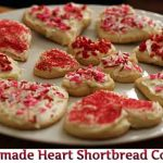 Homemade Heart Shortbread Cookies