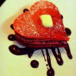 Homemade Red Velvet Pancakes