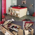 13 Clever Ideas to Use Bedroom Furniture for Storage