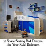 15 Space-Saving Bed Designs For Your Kids' Bedroom