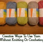 Creative Ways To Use Yarn Without Knitting Or Crocheting