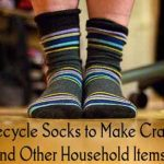 Recycle Socks to Make Crafts and Other Household Items