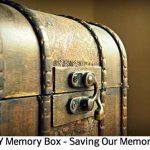 DIY Memory Box – Saving Our Memories