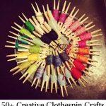 50+ Creative Clothespin Crafts