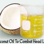Coconut Oil To Combat Head Lice