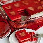 Valentine's Day – Layered Jello Squares