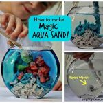 How to Make Magic Aqua Sand