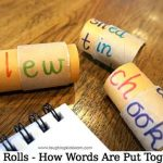 Word Rolls – How Words Are Put Together