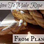 How To Make Rope From Plants