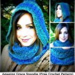 Amazing Grace Snoodie (Free Crochet Pattern)
