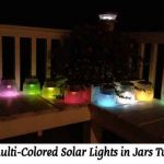 DIY Multi-Colored Solar Lights in Jars Tutorial