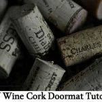 DIY Wine Cork Doormat Tutorial