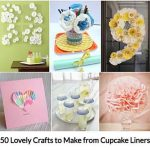 50 Lovely Crafts to Make from Cupcake Liners