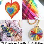 21 Rainbow Crafts & Activities