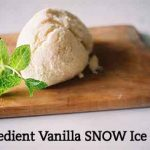 3-Ingredient Vanilla SNOW Ice Cream