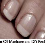 Hot Oil Manicure and DIY Recipe