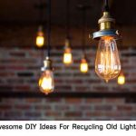 19+ Awesome DIY Ideas For Recycling Old Light Bulbs