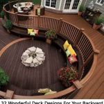 32 Wonderful Deck Designs For Your Backyard