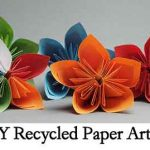 15 DIY Recycled Paper Art Ideas