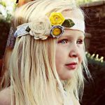 How-To Make a Burlap Flower Headband