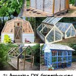 21 Amazing DIY Greenhouses With Great Tutorials