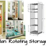 DIY Plan: Rotating Storage Unit