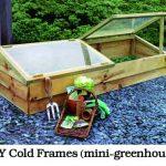 DIY Cold Frames (mini-greenhouse)