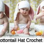Little Cottontail Hat Crochet Pattern