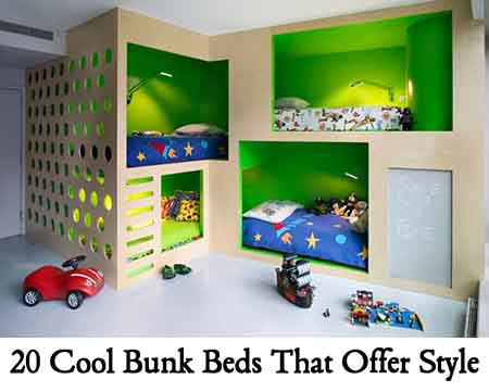 20 Cool Bunk Beds That Offer Style Lil Moo Creations