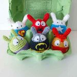 Crochet Easter Superheroes!