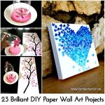 23 Brilliant DIY Paper Wall Art Projects