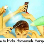 How to Make Homemade Hairspray