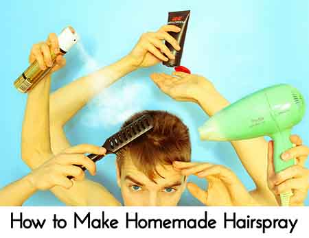 How to Make Homemade Hairspray. Artur Chalyj via Flickr
