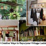 38 Creative Ways to Repurpose Vintage Ladders