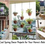 12 Cool Spring Decor Projects for Your Home's Balcony