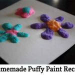 Homemade Puffy Paint Recipe